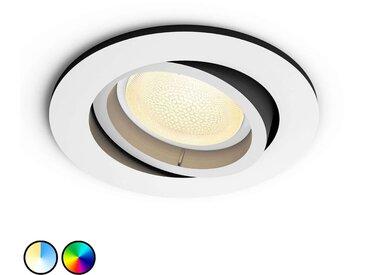 Philips Hue Centura spot encastré LED rond, blanc