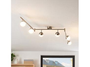 Lindby Lientje plafonnier LED à six lampes