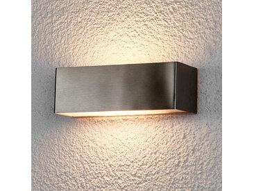 Applique LED Alicja en inox
