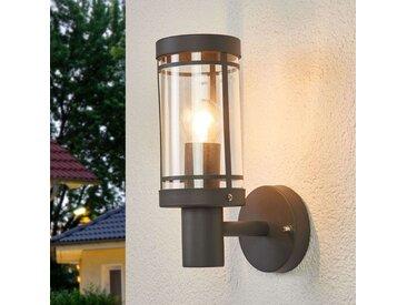Belle applique d'extérieur Djori en gris foncé– LAMPENWELT.com