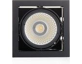 Arcchio Adin lampe LED 3000K, 40,2W, noire