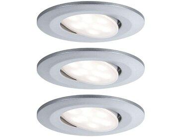 Paulmann spot encastré LED Calla par 3 chromé