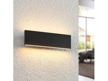 Lindby Ignazia applique LED, 28cm, noire