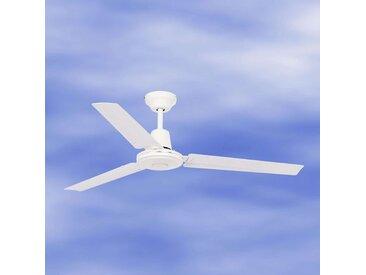 Ventilateur de plafond ECO INDUS blanc