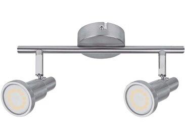 LEDVANCE Niclas spot LED, nickel, 2lampes