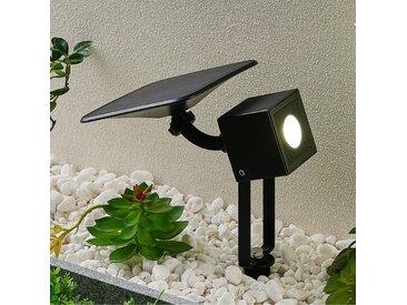 Lindby Kordt lampe solaire LED pour mur ou sol