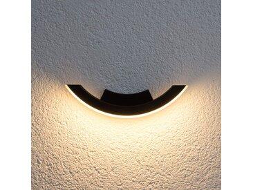 Applique extérieure LED gris graphite Half– LAMPENWELT.com