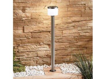 Borne lumineuse LED Cathleen, inox– LAMPENWELT.com