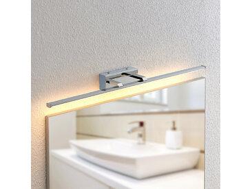 Lindby Eloni applique salle de bain LED, chromée