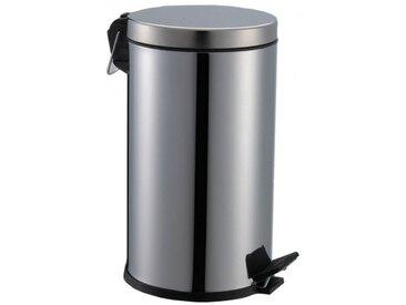 Poubelle salle de bain inox 5 litres - AKW - 23613
