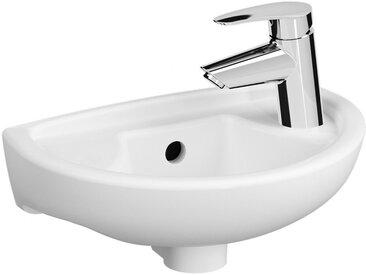 Lave-mains 38x24 ARKITEKT étroit - VITRA - 6018L003-1551