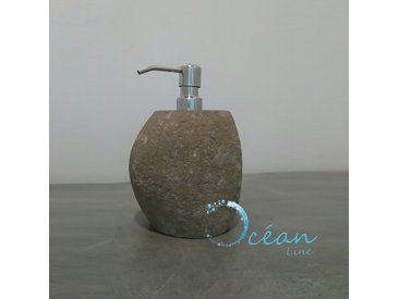 Distributeur de savon en pierre de rivière, Galéo