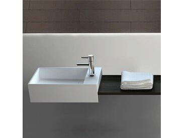 Vasque suspendue ou à poser, 35 cm en Solid surface - Manita D