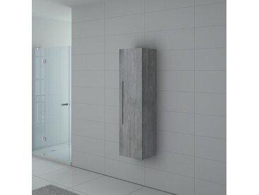 Meuble colonne PAL150BT salle de bain Béton