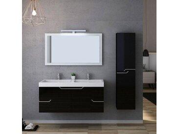 Meuble salle de bain CALABRO 1200 Noir