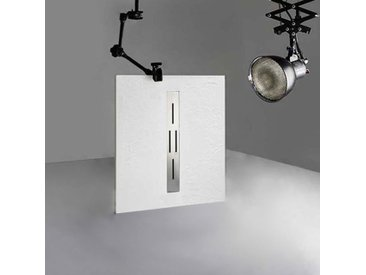 Receveur en gel coat ARDESIA Blanc 100x80 cm