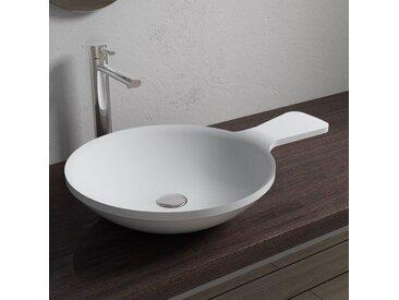 Vasque à poser cuillère très originale en solid surface SDV12