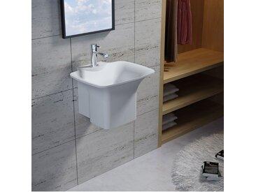 Vasque suspendue en solid surface Réf : SDN2