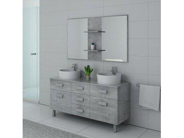 Meuble salle de bain DIS911BT Béton
