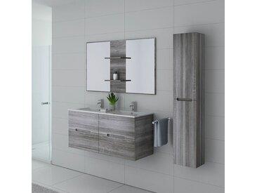 Meubles salle de bain MILAZZO Chêne Gris