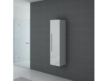 Meuble colonne PAL150B salle de bain Blanc