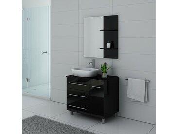 Meubles salle de bain TOSCANE Noir