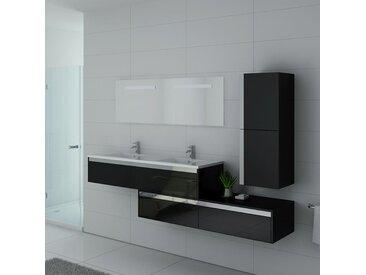 Meubles salle de bain BELLISSIMO N Noir
