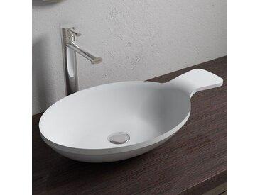 Vasque à poser cuillère en solid surface SDV11