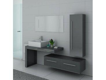 Meubles salle de bain DIS9250GT gris taupe