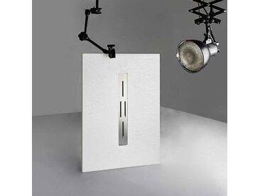 Receveur de douche extra plat 120x80 en gel coat, receveur de douche rectangulaire 120x80 ARDESIA
