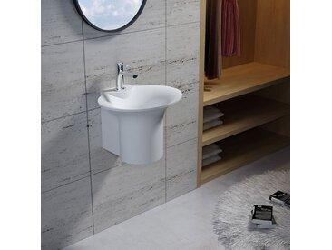 Vasque suspendue en solid surface Réf : SDN1