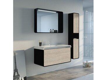 Meuble salle de bain LUMARZO 1000SC-N