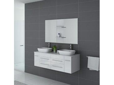 Meuble salle de bain TRIVENTO Blanc