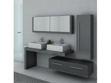Meubles salle de bain DIS9350GT gris taupe