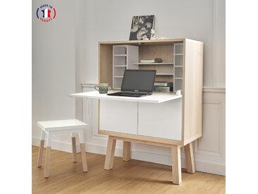 Bureau secrétaire en bois fabrication française