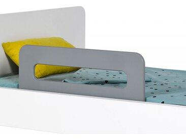 Barrière de lit enfant Gris Flanelle Bali 70 cm - chambrekids.com