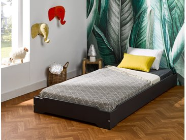 Lit empilable Lokka 90x190 Anthracite - chambrekids.com