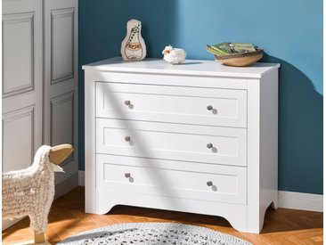 Commode enfant Occitane Blanc - chambrekids.com