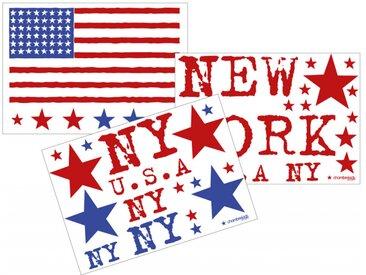 Stickers New York 3 planches - chambrekids.com