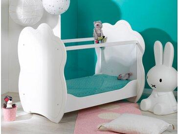 Lit bébé Plexiglas® Altéa Blanc - chambrekids.com