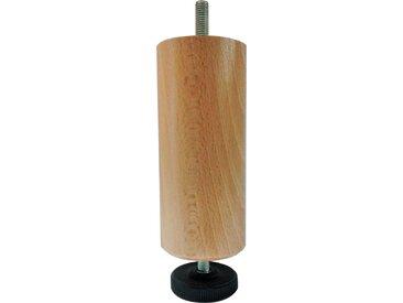 MRG - Pied de lit Pied réglable 17cm vernis naturel