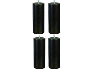 BULTEX - Jeu de pieds Cylindre Pieds cylindre wengé