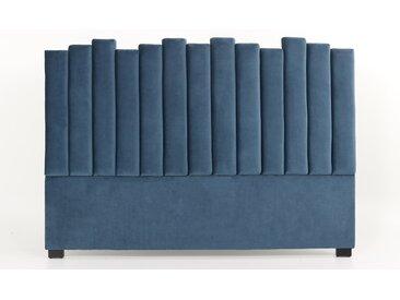 Tête de lit Lucky 180cm Velours Bleu