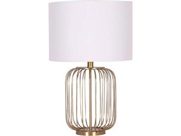 Lampe de table Elysium Blanc et Or