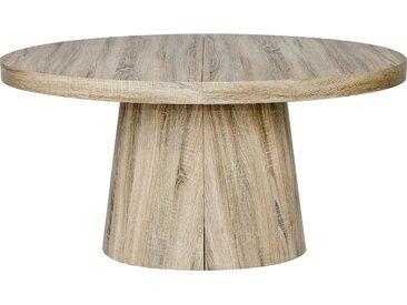 Table ovale extensible Oluze Chêne clair