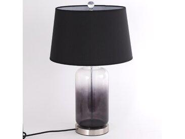 Lampe de table Belgrade Verre Noir