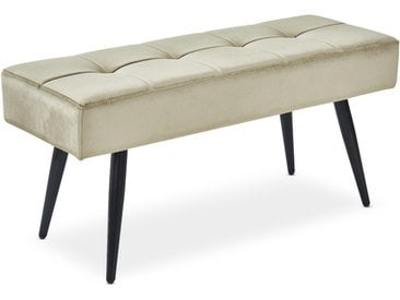 Banquette Vanina Velours Taupe