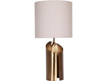 Lampe de table Gaia Blanc et Cuivre