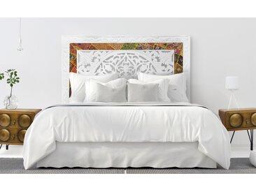 Tête de lit Koutoubia Indienne 160cm Blanc
