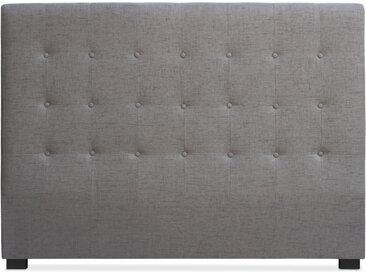 Tête de lit Luxor 160cm Tissu Taupe